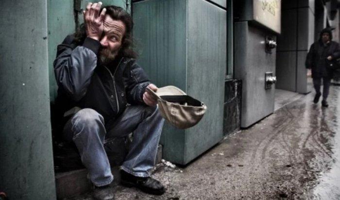 В российской столице бездомный хотел ограбить банк