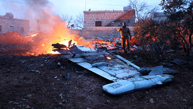 В Сирии террористы сбили российский штурмовик Су-25