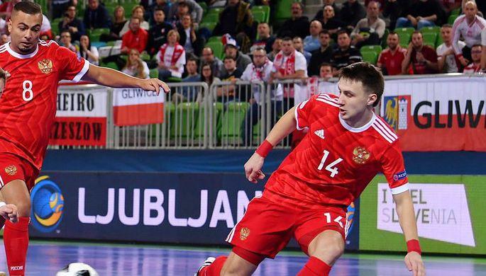 Сборная России вышла вполуфинал чемпионата Европы помини-футболу