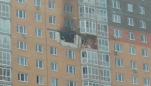 ВПодмосковье при ремонте вквартире взорвался баллон сгазом