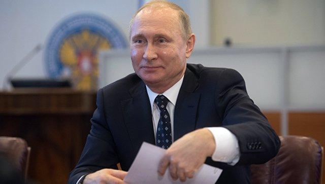 Путин отчитался вЦИК освоих доходах зашесть лет