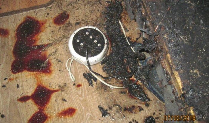 Возбуждено уголовное дело по факту гибели двух мальчиков при пожаре в поселке Оса