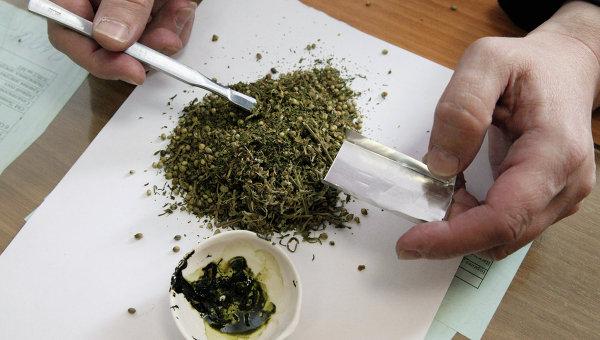 В Красноярском крае полицейские задержали мужчину с марихуаной