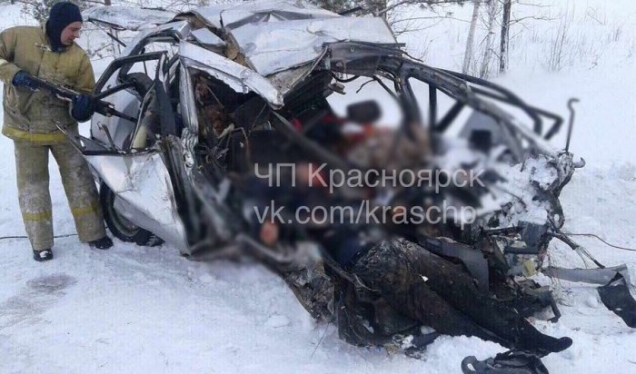 Восемь человек погибли встрашном ДТП под Красноярском