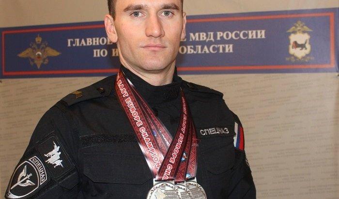 Спецназовец изИркутска победил наЧемпионате Восточной Европы поармлифтингу