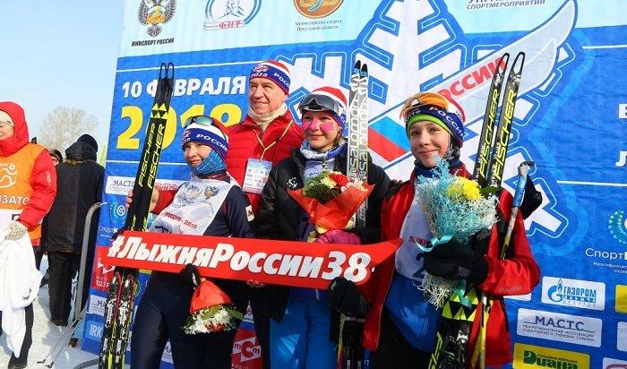 Более 13тысяч человек приняли участие в«Лыжне России» вИркутской области