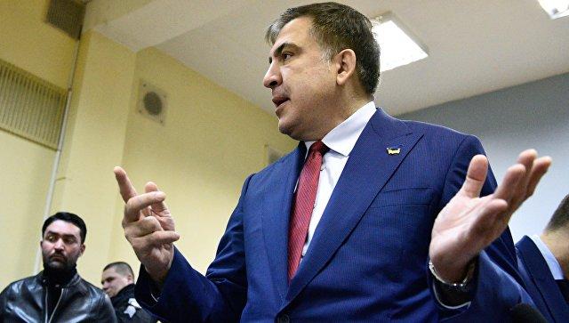 Саакашвили депортирован с Украины в Польшу