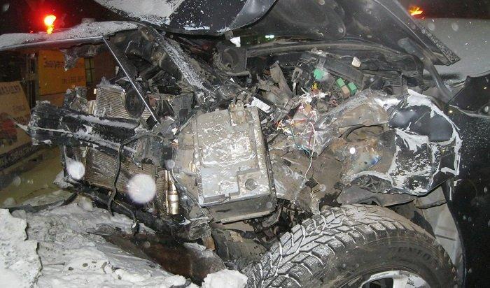 ВБратске при столкновении Toyota иHyundai пострадали пять человек, втом числе 3-летний ребенок