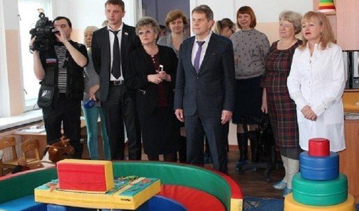 ВИркутске открылось первое отделение медицинской реабилитации для детей раннего возраста