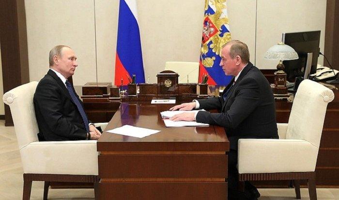 Губернатора Приангарья уличили волжи перед Путиным заслова опосещаемости матчей побенди
