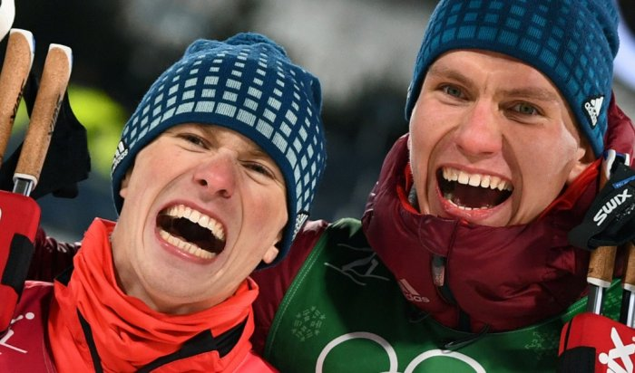 Лыжники Спицов иБольшунов выиграли «серебро» вкомандном спринте