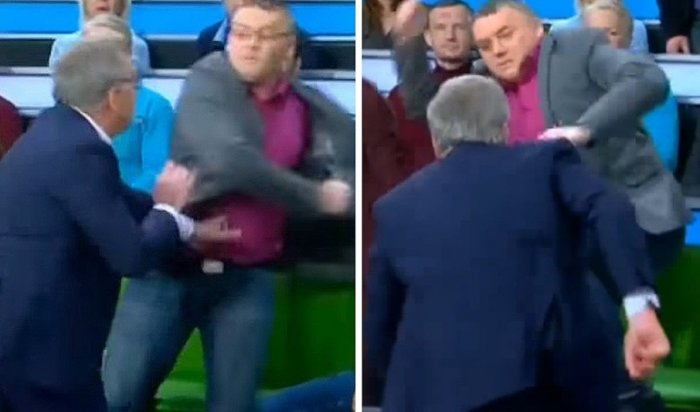 Телеведущий Норкин подрался сукраинским экспертом впрямом эфире