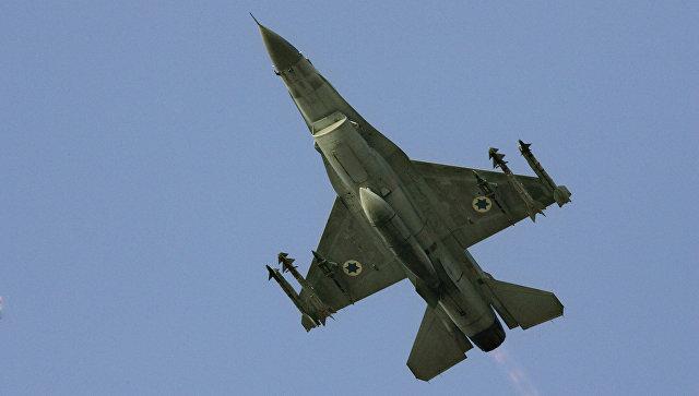 Израильский истребитель F-16 был сбит в Сирии из-за ошибки пилотов