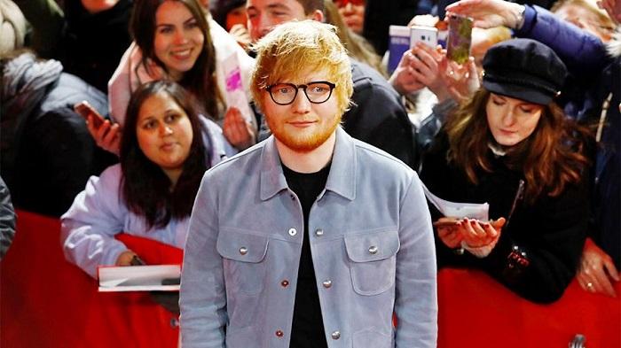 Британский певец ЭдШиран стал самым продаваемым исполнителем 2017года