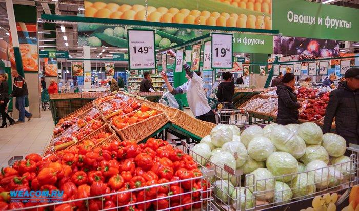 В Иркутской области за февраль подорожали мясо, молоко, фрукты и овощи