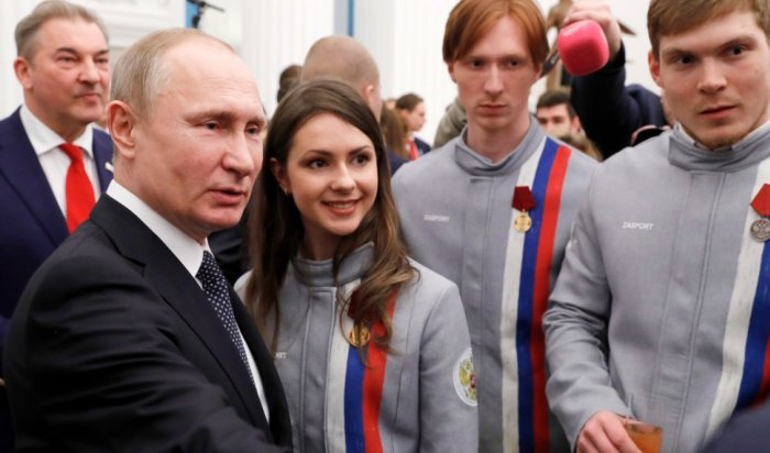 Путин вручил госнаграды призерам Олимпиады
