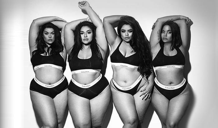 Модели формата plus-size попытались повторить винтернете успех Ким Кардашьян