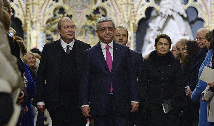 Новым президентом Армении избран Армен Саркисян