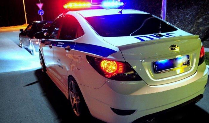 В Аларском районе в ходе погони задержан пьяный водитель BMW