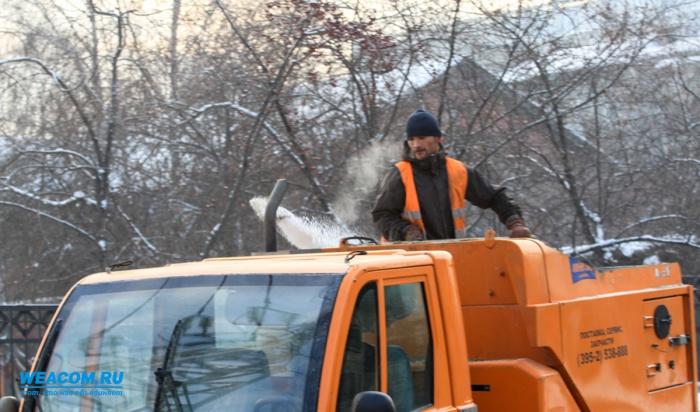 С улиц Иркутска за два месяца вывезли около 30 тысяч тонн снега