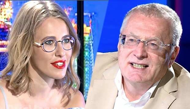 Собчак и Жириновский опять поругались на дебатах