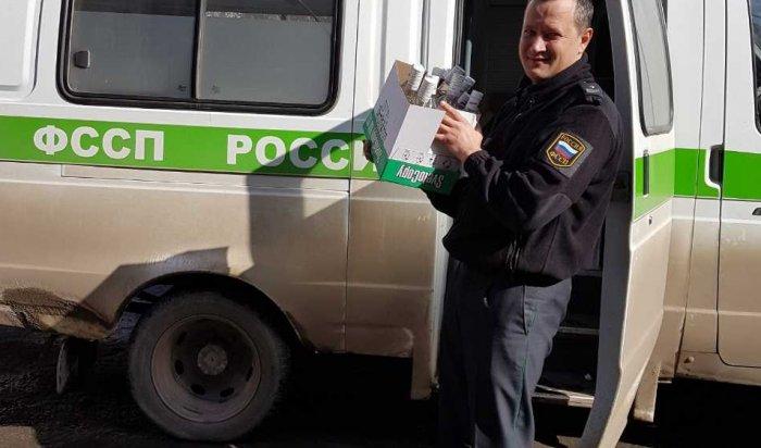 Более двух тысяч бутылок алкоголя уничтожат в Иркутске