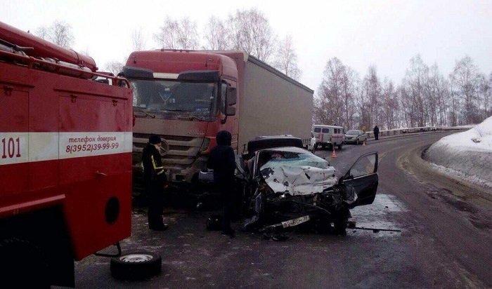 Семья изАнгарска погибла вДТП вСлюдянском районе
