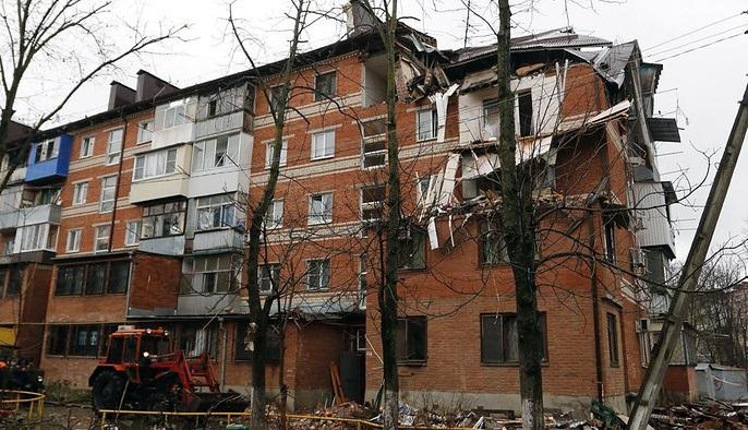 ВКраснодаре впятиэтажном жилом доме взорвался бытовой газ