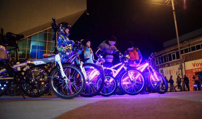 24марта вИркутске пройдет флешмоб «Велосветлячки»