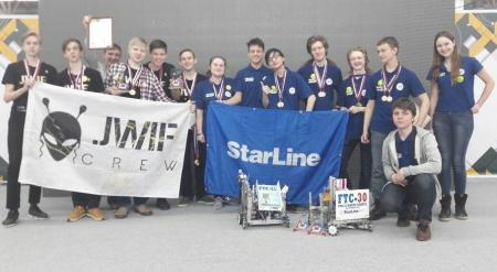Команда лицея ИГУ стала абсолютным победителем всероссийского фестиваля по робототехнике