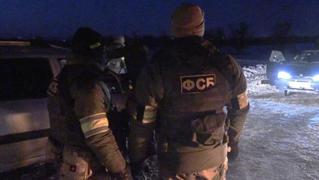 Сотрудники ФСБ уничтожили вСаратове группу террористов (Видео)
