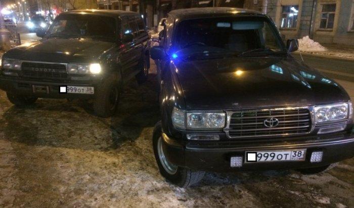 В Иркутске между мужем и женой едва не произошел конфликт из-за автомобиля с подложными номерами
