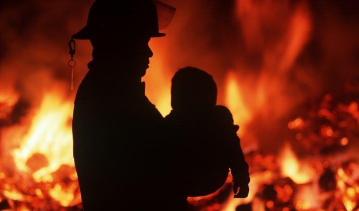 В Красноярске на пожаре погиб 4-летний ребенок