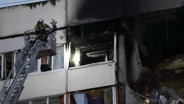 В жилой девятиэтажке в Петербурге взорвался газ