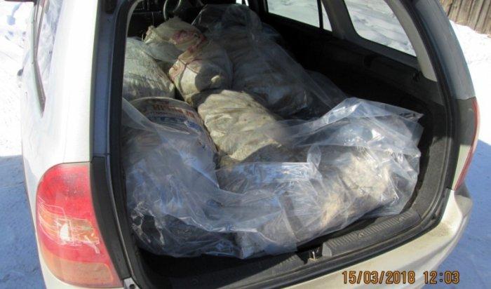 В Слюдянском районе у предпринимателя изъято 150 кг запрещенного к обороту байкальского омуля