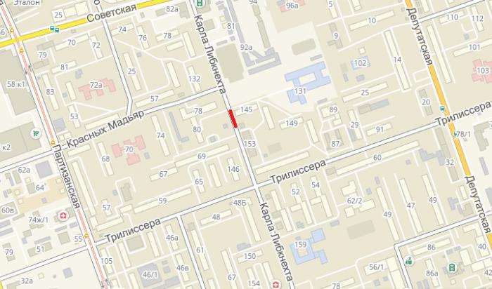 В Иркутске на несколько дней ограничат проезд по улице Карла Либкнехта