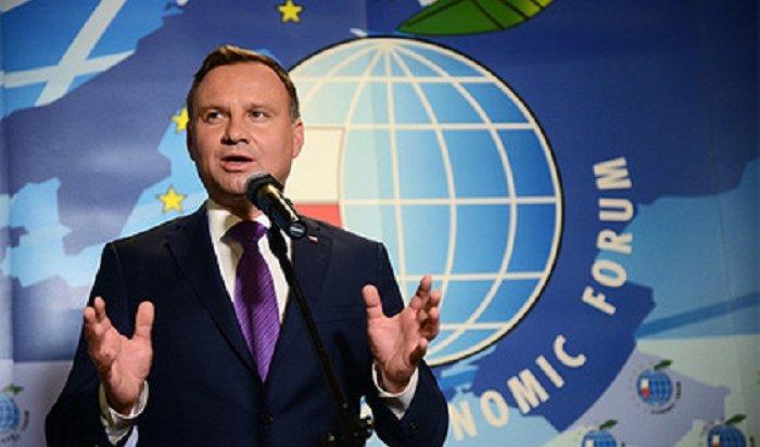 Президент Польши заявил о намерении бойкотировать ЧМ-2018 в России