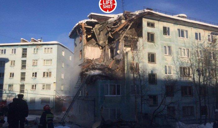 В Мурманске обрушился жилой дом
