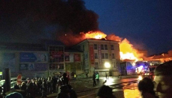 Крупный пожар вТЦ«Центр» вАнгарске произошел из-за грубейших нарушений требований пожарной безопасности