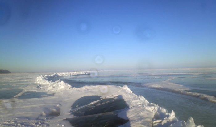 На Байкале наблюдается ухудшение состояния льда