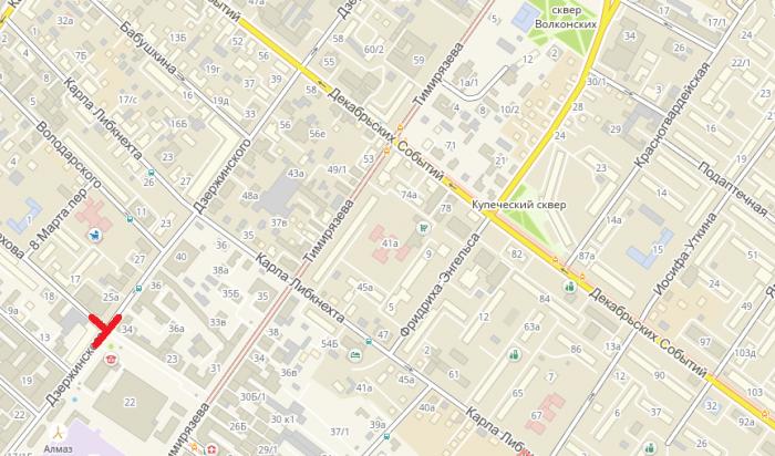 В Иркутске ограничат движение транспорта по улице Дзержинского