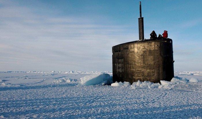 Североамериканская подлодка тренировалась воевать срусскими, однако застряла вольдах Арктики