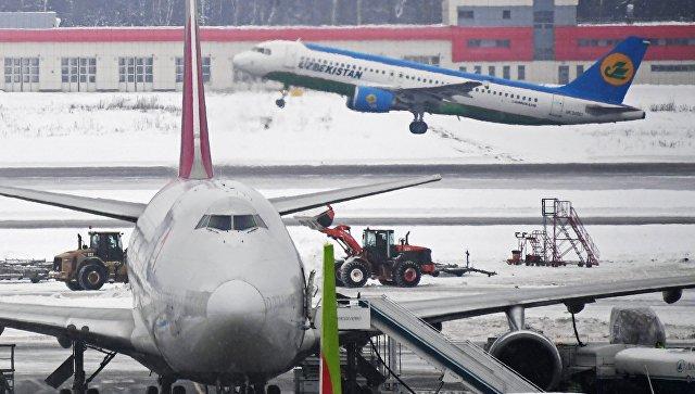 Наборту вылетевшего из  Домодедово самолета произошло задымление