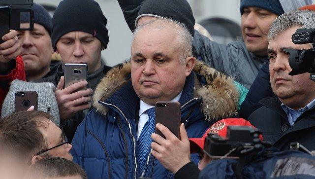 Вице-губернатор Кузбасса на коленях попросил прощения у кемеровчан