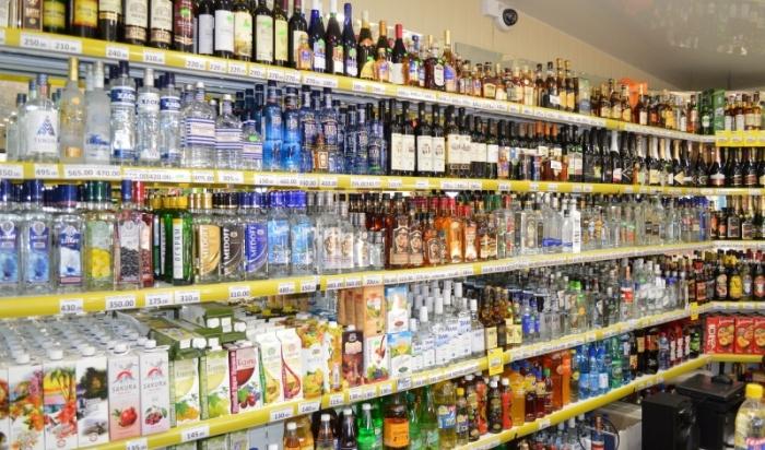 Около 1,5тысячи литров пива икоктейлей изъяли изпавильона набульваре Рябикова вИркутске