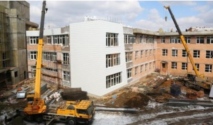 ВИркутске завершается строительство школы №19