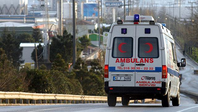 В Турции разбился микроавтобус с 53 нелегальными мигрантами