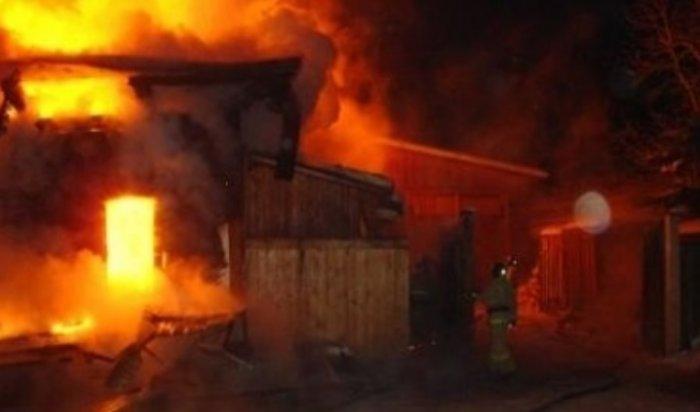 За три дня в Приангарье на пожарах погибли два человека
