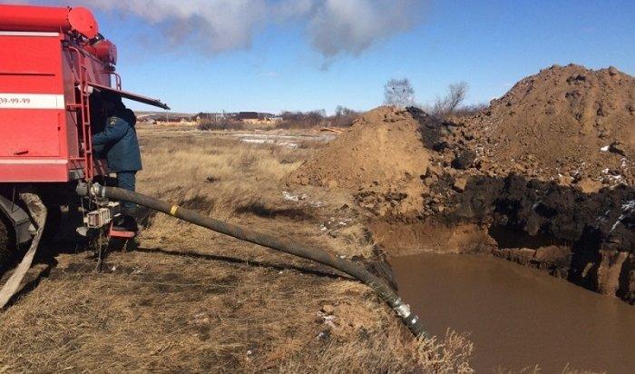 Вселе Хомутово подтопило 53приусадебных участка (Видео)