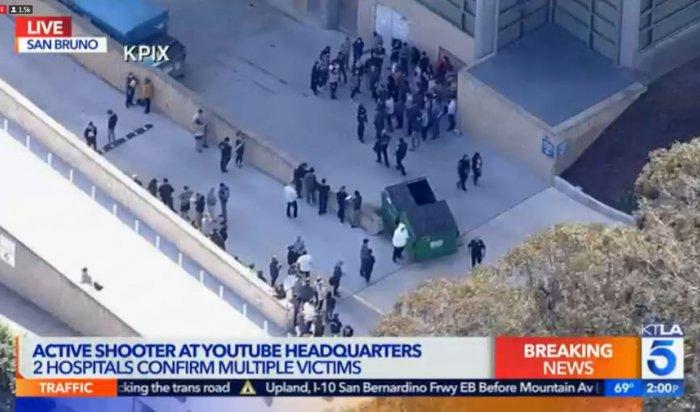 Рядом со штаб-квартирой YouTube в Калифорнии женщина устроила стрельбу